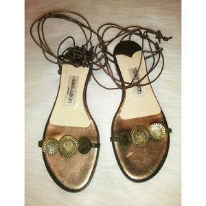 Jimmy Choo Flat Sandals